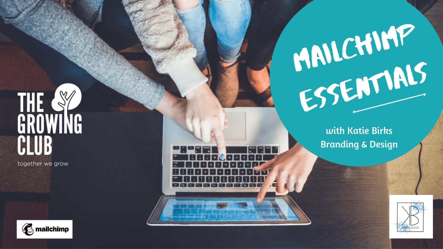 Mailchimp essentials, workshop, lancaster