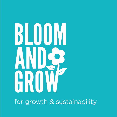 bloom and grow, logo, growth, sustainability, courses, lancaster