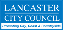 lancaster council logo blue